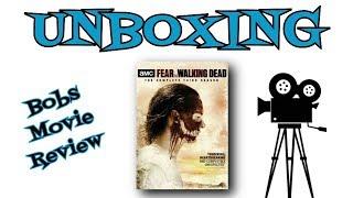 Fear The Walking Dead Season 3 DVD Unboxing streaming