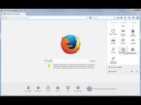 Firefox: Browser Sicher Einstellen