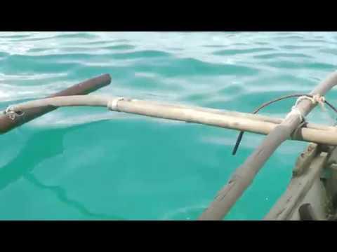 cebu boat trip, native boat