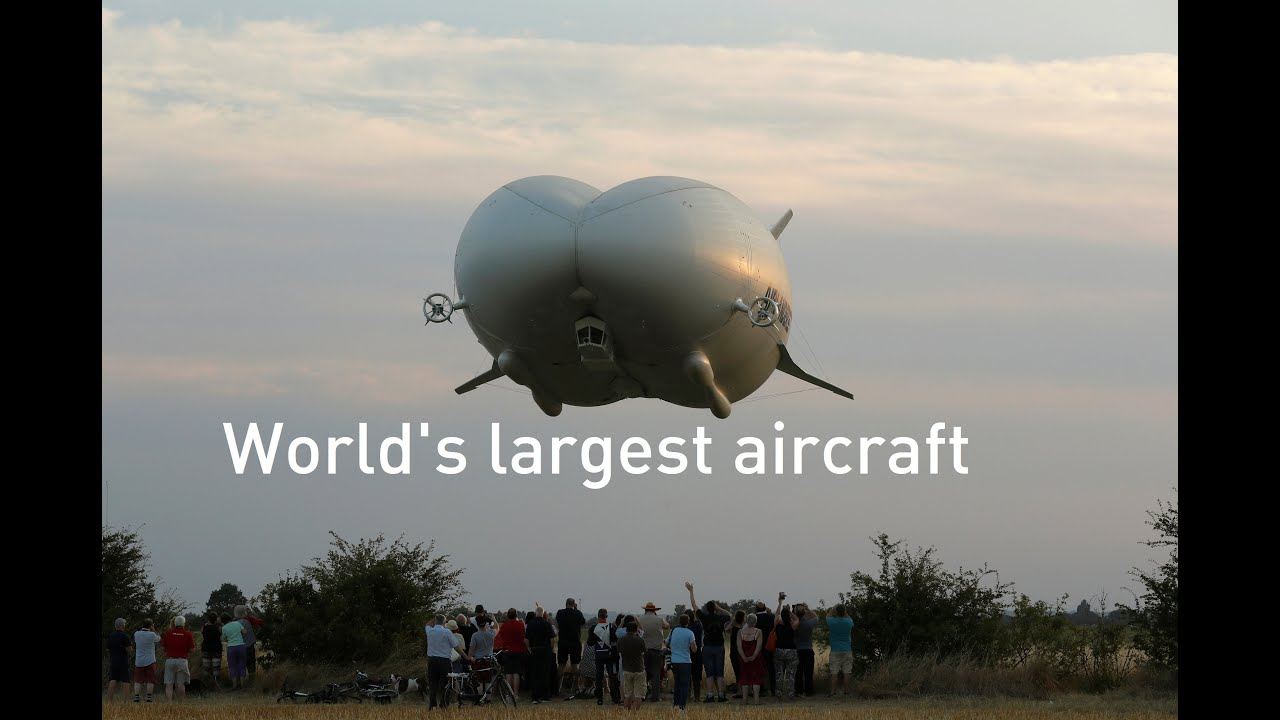 World's largest aircraft the Airlander 10 takes first ...