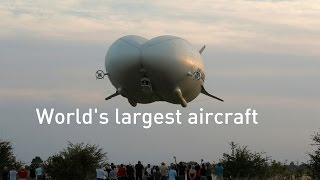 World's largest aircraft the Airlander 10 takes first flight