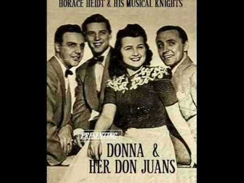 I DON'T WANT TO SET THE WORLD ON FIRE~ Horace Heidt & His Musical Knights (1941)
