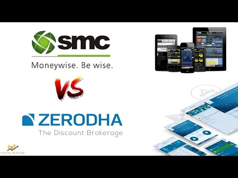 Zerodha vs SMC Global Online - Detailed Comparison - Pricing, Trading Softwares, Leverage & More