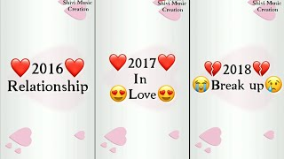 New Year Special Whatsapp status 2019 Happy New Year Love Special Whatsapp status 2019
