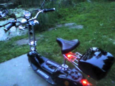 Fast Electric Scooter >> Mein Elektro-Scooter McFun E400 Comfort - Wien Donaupark - YouTube