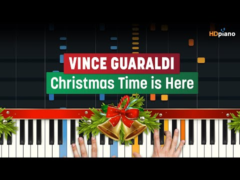 "How To Play ""Christmas Time Is Here (Charlie Brown OST)"" by Vince Guaraldi 