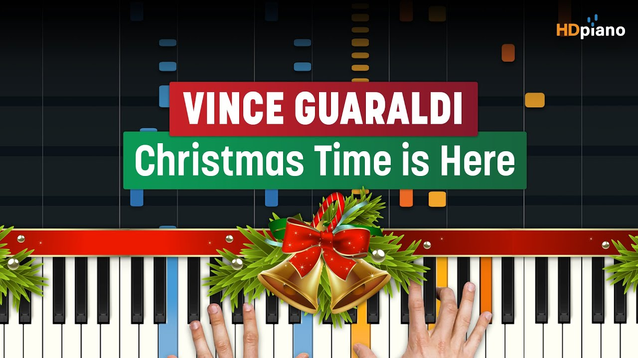 Christmas Time Is Here Piano.How To Play Christmas Time Is Here Charlie Brown Ost By Vince Guaraldi Hdpiano Piano Tutorial