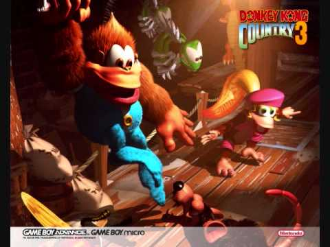 Donkey Kong Country 3 - Game Over - YouTube