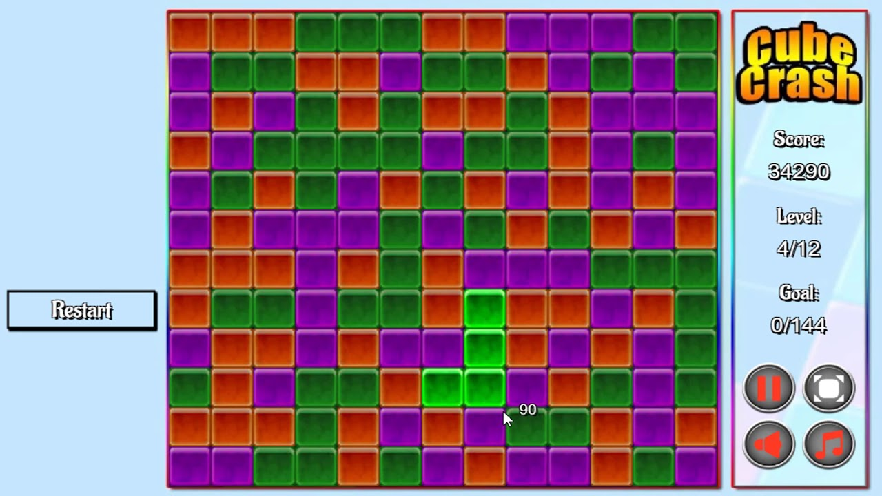 cube crash game online play free