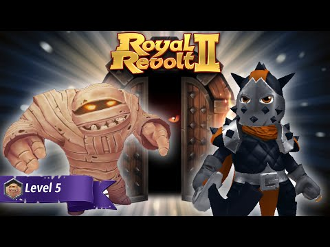Royal Revolt 2 - Dungeon - Crypt of the Living Dead V (5)