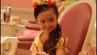 BECOMING PRINCESS BELLE AT BIBBIDI BOBBIDI BOUTIQUE thumbnail