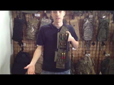 Airsoft GI Uncut - Condor Outdoor MOLLE Shotgun 25 Round Reload Magazine Pouch