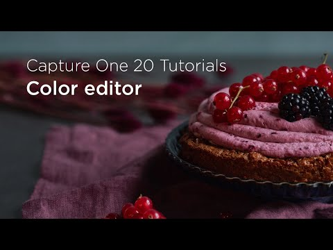 Capture One 20 Tutorials | Color editor thumbnail