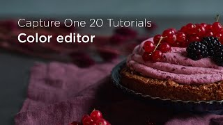 Capture One 20 Tutorials | Color editor
