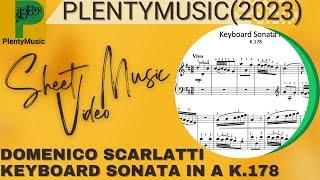 Scarlatti D. | Keyboard Sonata in D K.178