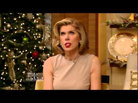 Christine Baranski Interview with Kelly and Michael
