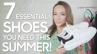 7 Essential Summer Shoes