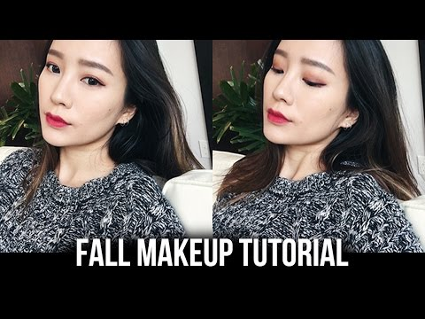 Fall/Autumn Makeup Tutorial | 適合秋天的楓葉妝♡