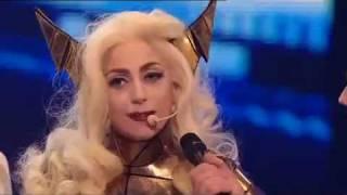 Lady GaGa live on XFactor