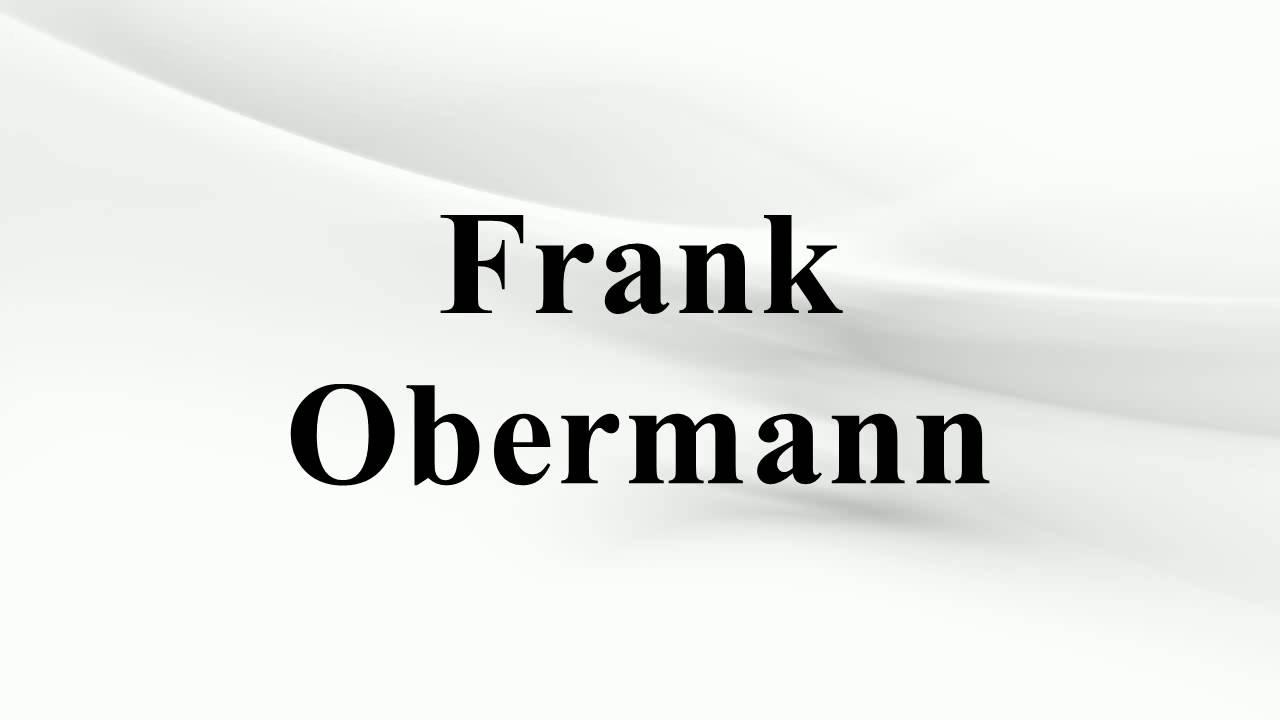 Frank Obermann