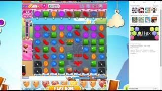 candy crush saga level 1366 no booster 3 stars 231k pts