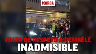 Otra falta de respeto hacia Dembélé: sale una ambulancia y gritan esto I MARCA