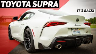 2020 Toyota Supra Review: It's Finally Back, and Here's Everything You Need to Know About It