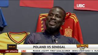 Emmanuel Eboue, former Arsenal star on UBC TV World Cup analysis