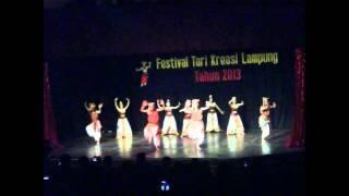 TARI NINDAI KASIH - JUARA 1 FESTIVAL KRAKATAU 2013