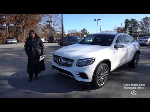 2019 mercedes benz glc300 coupe video review with tina. Black Bedroom Furniture Sets. Home Design Ideas