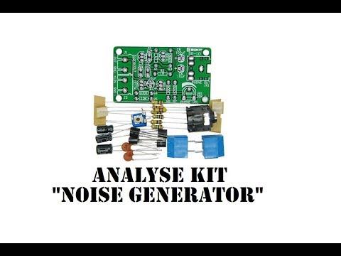 Cyrob : Analyse d'un kit générateur de bruit BF