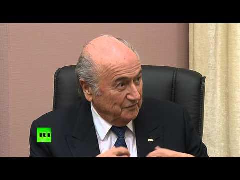 Йозеф Блаттер: В РФ будет самый большой ЧМ по футболу, несмотря на недовольство некоторых политиков