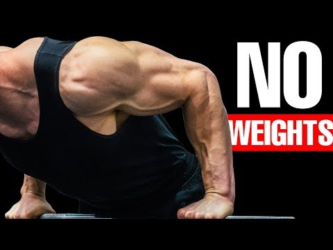Build WIDER SHOULDERS - Bodyweight Workout
