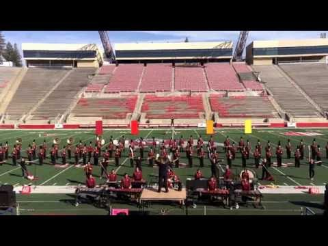 Tulare Union High School Marching Band 2016   Sierra Cup Classic 10/22/16 .