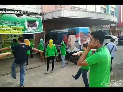 Senam Sehat 2017 Bussan Auto Finance (BAF) Palembang