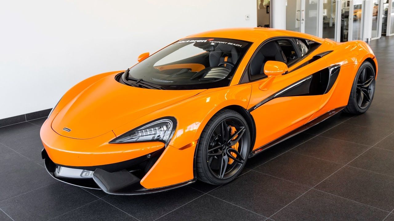 "Mclaren P1 Orange >> 2017 ""Ventura Orange"" McLaren 570S - YouTube"