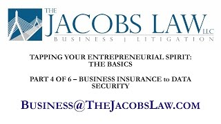 Tapping Your Entrepreneurial Spirit - Business Insurance to Data Security - 800-652-4783