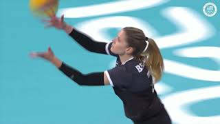U.S. Women's Volleyball Wins Over Canada  | Pan American Games Lima 2019
