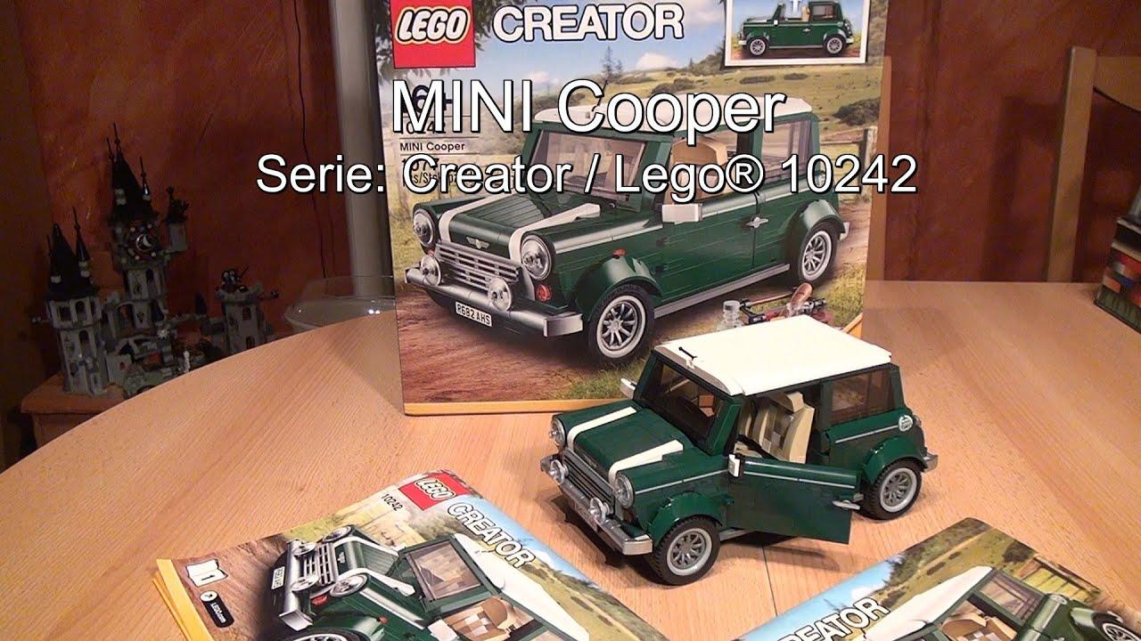 test lego mini cooper set 10242 creator youtube. Black Bedroom Furniture Sets. Home Design Ideas