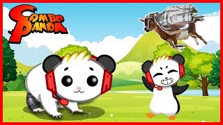 Best Animal Friendly Games! Let's Play Roblox Hamster Sim + Goat Simulator with Combo Panda