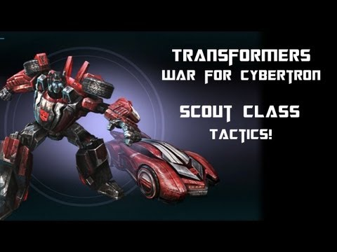 Transformers War for Cybertron - Scout Tips & Tricks - Sideswipe Gameplay Commentary