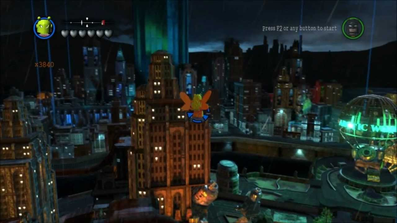 lego batman 2 dc super heroes free roam