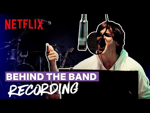 Behind the Band Ep 3: Recording | Julie and the Phantoms | Netflix Futures