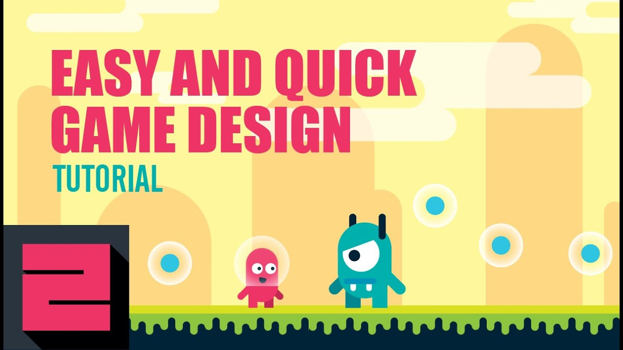 Easy and Quick Game Design Tutorial in Illustrator, ZipUp