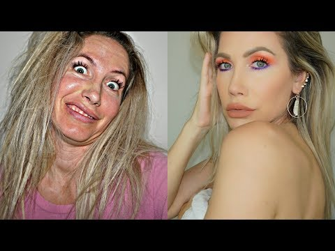 BEFORE & AFTER MAKEUP  (GET READY WITH ME)