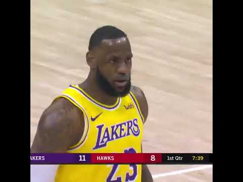 Los Angeles Lakers x Atlanta Hawks - Lebron James and Tray Young give show - February, 2019