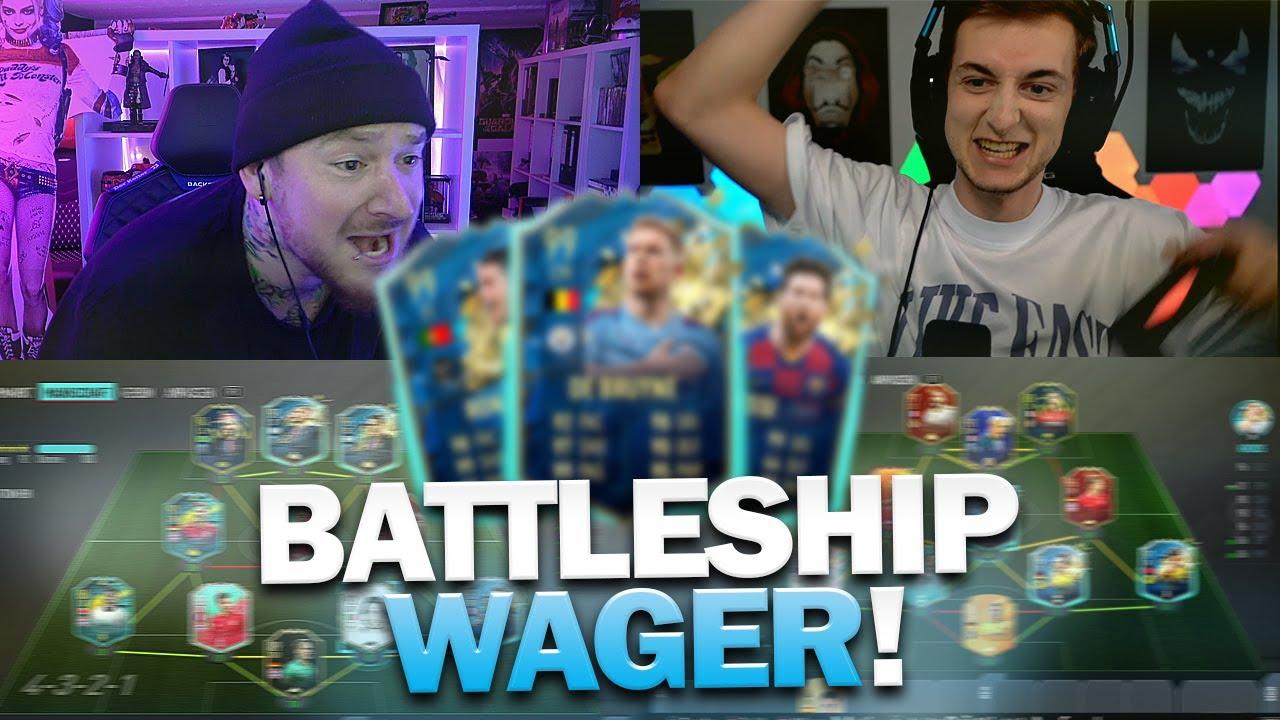 Special Card BATTLESHIP WAGER vs KELLER | FIFA 20