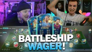 Special Card BATTLESHIP WAGER vs KELLER   FIFA 20