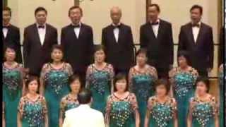 新加坡南洋客属总会合唱团演唱 -- 去一个美丽的地方