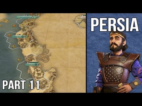 Let's Play Civilization 6 Persia Gameplay (1440p) - Part 11: The Aztec Threat